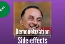 An in-depth look at Demonetization, its side effects and the way forward