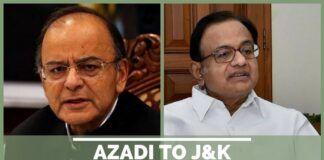 Azadi to J&K