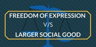 Freedom of Expression Vs Larger Social Good