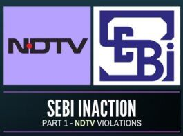Is politics coming in the way of action by SEBI against NDTV?