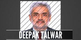 The CBI has filed an FIR against Deepak Talwar