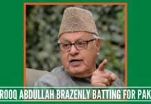 Dr Farooq Abdullah brazenly batting for Pakistan