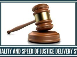 Improve Justice Delivery System