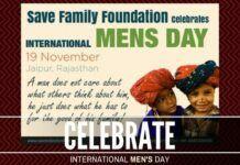 International Men's Day falls on November 19th