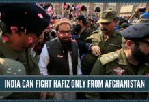 India can fight Hafiz only from Afghanistan