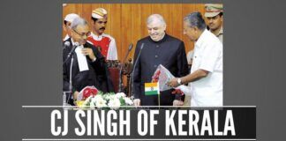 A sad example of how some Kerala lawyers treat their outgoing Chief Justice