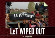 About 6 top leaders of LeT holed up in the Kashmir Valley have been eliminated
