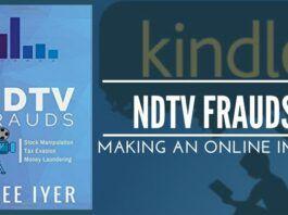 NDTV Frauds –making an online impact