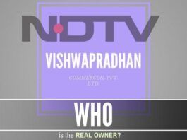 Who is the real owner of NDTV? VCPL or NDTV?