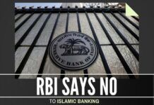 RBI rejects Islamic Banking once and for all in India