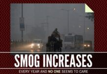Smog increases every years and no one seems to do anything about it