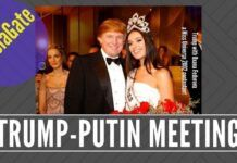 How long with the accidental meeting between Putin and Trump last?