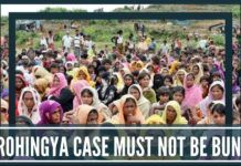 The Rohingya Case must not be bungled