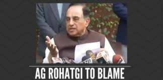When former AG Mukul Rohatgi said that he supported the 2G judgment, was he confirming that under his role as AG his government messed up?