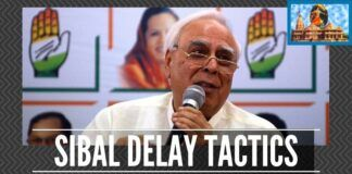 Is Sibal risking his and his party's future by pleading for Sunni Wakf Board?