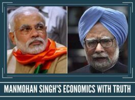 MANMOHAN SINGH'S ECONOMICS WITH TRUTH