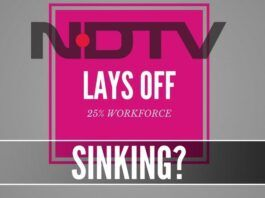 Is a 25% reduction of workforce at NDTV a harbinger of hard times ahead?