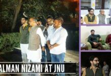 These pictures nail the lies of Congress about Salman Nizami