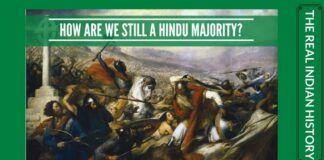 Despite Islamic invasion, we are a Hindu Majority