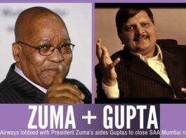 The Guptas are so close with Jacob Zuma and family that the two together are sometimes referred to as the Zuptas