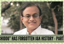 """""""Chiddu"""" HAS FORGOTTEN Jammu & Kashmir HISTORY"""