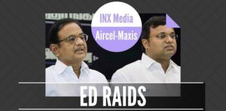 More raids at the homes of Chidambaram in connection with INXMedia and Aircel-Maxis