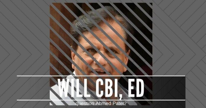 When will the government decide to question Ahmed Patel in the Sterling Biotech scam?