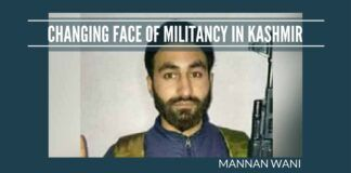 Changing face of militancy in Kashmir