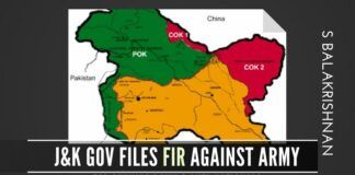 In a highly questionable move, the PDP-BJP coalition government has filed an FIR against in the Indian Army for gunning down two anti-nationals