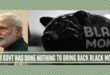 Modi Govt has done nothing to bring back black money