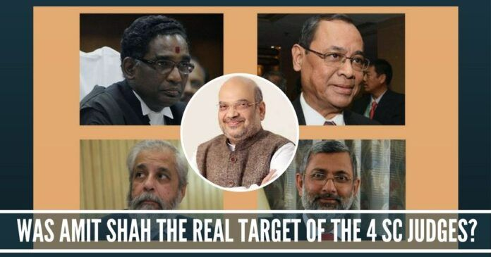 Was Amit Shah the real target