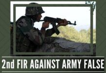 While the second FIR against Army turned out to be false, was the first one in Shopian registered due to political pressure?