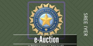 The decision of BCCI to hold an e-Auction for its media rights will make the process transparent and done right, yield higher returns