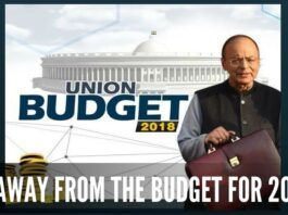 Take away from Budget 2018
