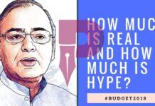 #Budget2018 What is Real and what is Hype? In discussion with Prof. RV