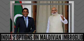 India 's options on Maldivian imbroglio