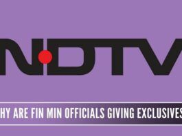 More Finance Ministry officials are showing up in scam-tainted NDTV to give exclusive interviews as if to mock the Prime Minister. The public is not amused.