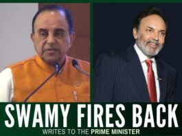Swamy responds to Prannoy Roy letter, asks the PM to show no mercy to the corrupt and tax evaders