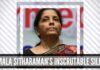Nirmala Sitharaman's inscrutable silence