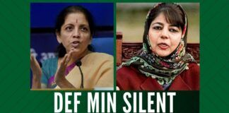 The silence on part of the Defence Minister Nirmala Sitharaman on the FIR against the Army is baffling