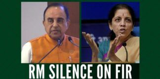 The continued silence of the Defence Minister and waffling answers by the Finance Minister has compelled Swamy to write to the President on the FIR