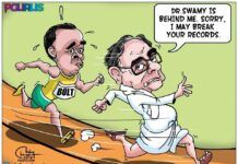 Filing petitions in Supreme Court, giving interview, trying to create an air of nonchalance - this is Chidambaram today
