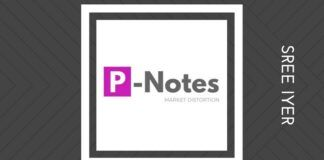 P-Notes are going down but the Stock Market is reaching dizzying heights. Investors should proceed with caution.