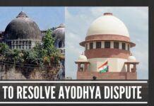 Ramjanmabhoomi-Babri Masjid Dispute