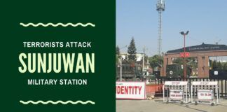 #SunjuwanTerrorAttack Exclusive Video and the developing story of JeM terrorists attacking Sunjuwan Military Camp which houses families and personnel. Clearing operations still on