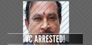 Rampant corruption unearthed in the educational institutions in Tamil Nadu with the arrest of a Vice-Chancellor