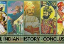 real Indian history - conclusion
