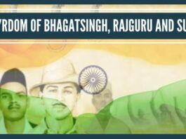 The sacrifice made by Bhagat Singh, Rajguru, Sukhdev for the nation