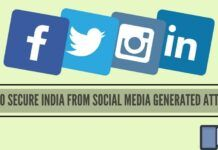 How to secure India from Social Media generated attacks