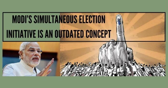 Modi's Simultaneous Election Initiative Is An Outdated Concept